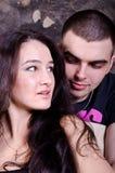 Портрет счастливых пар Стоковые Фотографии RF