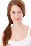 Портрет сь девушки gingerish Стоковые Изображения RF