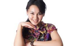 Портрет ся молодой женщины Стоковые Изображения RF