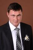 Портрет groom стоковая фотография rf