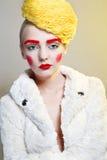 Портрет с шляпой потоков Стоковая Фотография RF