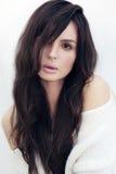 Портрет типа моды красивейшей женщины стоковые фото