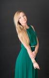 Портрет тонкой блондинкы Стоковые Фотографии RF