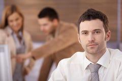 Портрет уверенно бизнесмена Стоковая Фотография RF