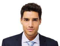 Портрет уверенно бизнесмена стоковые изображения rf