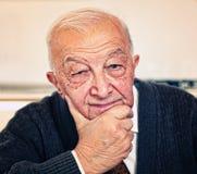 портрет уверенно человека старый Стоковое фото RF