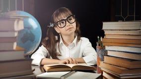 Портрет умной школьницы Стоковые Фотографии RF