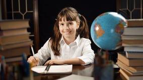Портрет умной школьницы Стоковые Изображения RF