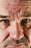 Портрет унылого старшего человека с бородой Стоковая Фотография RF