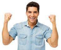 Портрет успешного молодого человека стоковые изображения