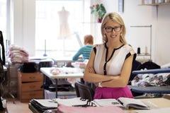Портрет успешного предпринимателя мелкого бизнеса Стоковое Изображение RF