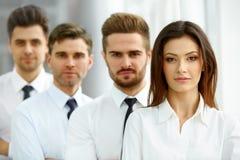 Портрет успешных бизнесменов команды Стоковое Изображение RF