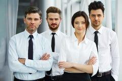 Портрет успешных бизнесменов команды Стоковые Изображения RF