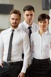 Портрет успешных бизнесменов команды Стоковое Изображение