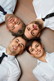 Портрет успешных бизнесменов команды Стоковое Фото