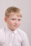 Портрет устрашенного подростка 12 Стоковое Изображение