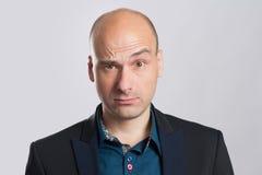 Портрет удивленного бизнесмена Стоковое фото RF