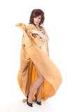 Портрет ферзя сопротивления. Человек одетьнный как женщина Стоковое Изображение RF