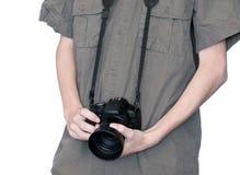 портрет фотографа Стоковое Изображение RF