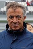 Портрет французского F1 водителя Джин Alesi Стоковые Фото