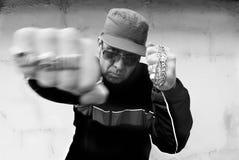 портрет хулиганья стоковая фотография rf