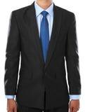 портрет части бизнесмена тела стоковое изображение rf