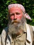 портрет человека 17 бород Стоковая Фотография