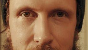 Портрет человека как раз смотря в камере Стоковая Фотография RF