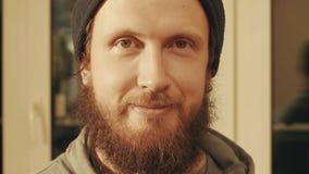 Портрет человека как раз смотря в камере Стоковая Фотография
