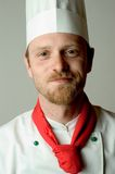 портрет шеф-повара Стоковая Фотография RF