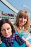 портрет 2 девушок Стоковая Фотография RF