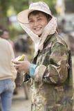 Портрет bueatiful junkgirl стоковое фото