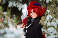 Портрет cosplay девушки Стоковая Фотография RF