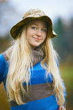 портрет fisherwoman Стоковое Фото