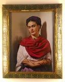 Портрет Frida Kahlo Стоковое Фото
