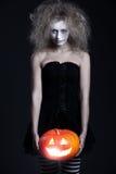 портрет halloween привидения Стоковая Фотография RF