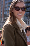 Портрет Karlie Kloss фотомоделей Стоковое Изображение RF