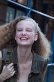 Портрет Katya Riabinkina фотомодели Стоковые Изображения RF