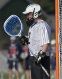 портрет lacrosse вратаря мальчиков Стоковое фото RF