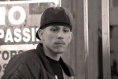 портрет latino мальчика Стоковая Фотография RF