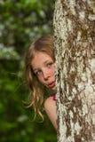 Портрет m за деревом 2 Стоковые Фото