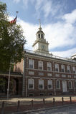 портрет philadelphia независимости залы формы Стоковое фото RF