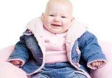 портрет s младенца Стоковое Изображение