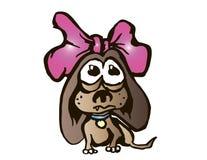 портрет s собаки Иллюстрация вектора