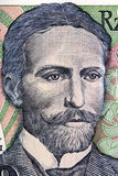 Портрет Stanislaw Wyspianski от старого 10 тысяч злотого Стоковые Изображения