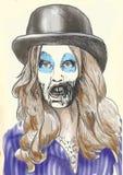 Портрет undead 2 Стоковое фото RF