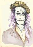 Портрет undead 5 Стоковая Фотография
