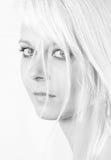портрет w светлого тонового изображения b Стоковое Фото