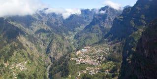 Португалия, Мадейра, долина монашек стоковые фотографии rf