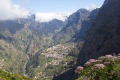 Португалия, Мадейра, долина монашек стоковая фотография